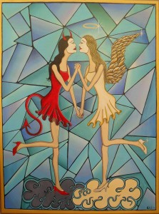 Devil-and-Angel-Artista-Eli-2009