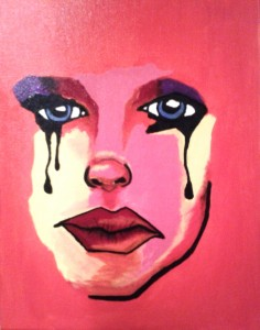 Anna Quay- I'm Sorry -2012  - Acrylic on Canvas -30cm x 40cm