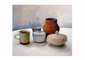 Aydin Chali - Still Life -  2010 - Oil on Canvas - 60cm x 70cm.