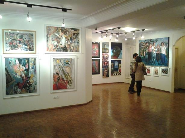 Painters Out of Order Exhibition, Tehran, Iran