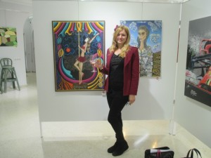 Artista Eli at Gallery Artclub in Fuengirola