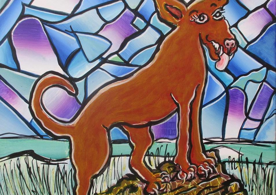 Artista Eli – Year of the Earth Dog – 2018 (The Campo Collection)